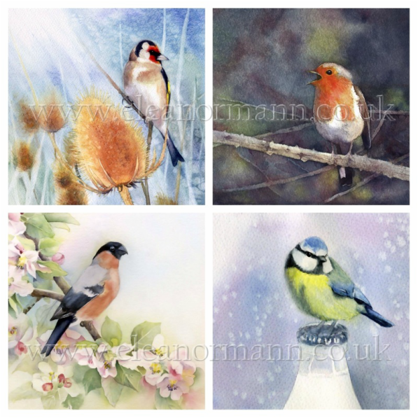Original paintings, Limited Edition Prints and Greeting cards will be on display in The Blue Room at The Bell Inn, 10 St James's Street, Castle Hedingham, Essex, CO9 3EJ throughout September by artist Eleanor Mann