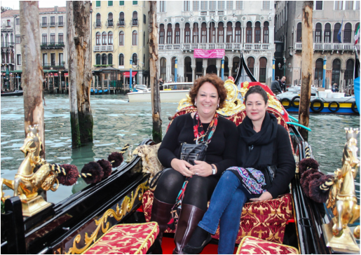 Watercolour artist and tutor Eleanor Mann trip to Venice 2013.